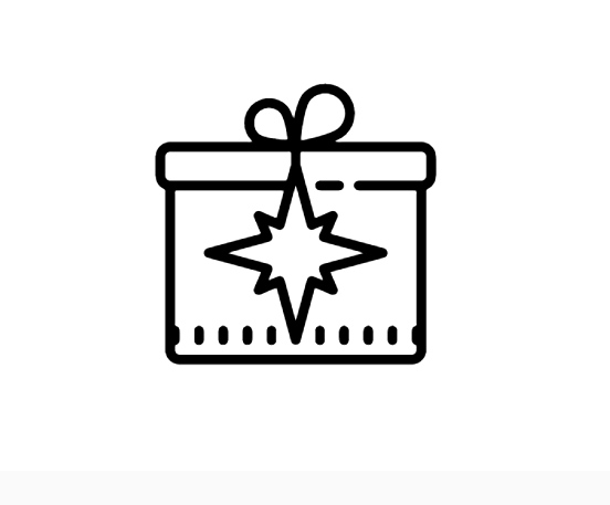 Christmas Gift Icon This Page Contains The Vector Icon As Well As Variations Of This Icon In Different Visual Styles And Related I Christmas Gifts Icon Gifts