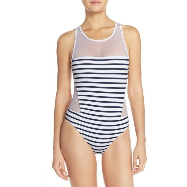 a2434e59b0 Vince Camuto  Shore Side  One-Piece Swimsuit (€100) ❤ liked on ...