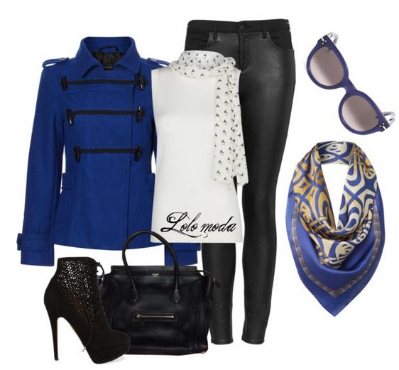 Blue lovers fashion, www.lolomoda.com