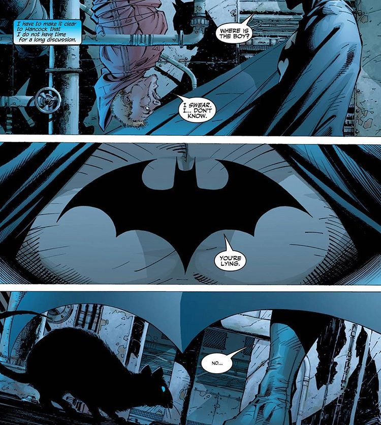 No time for long discussion. #batman #batmancomics #jimlee #jimleebatman #jephloeb #dc #dccomics #batmanhush #comics #thedarkknight