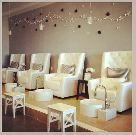 Pin by Kylie Daly on nail Salon | Pinterest | Salons and Spaces
