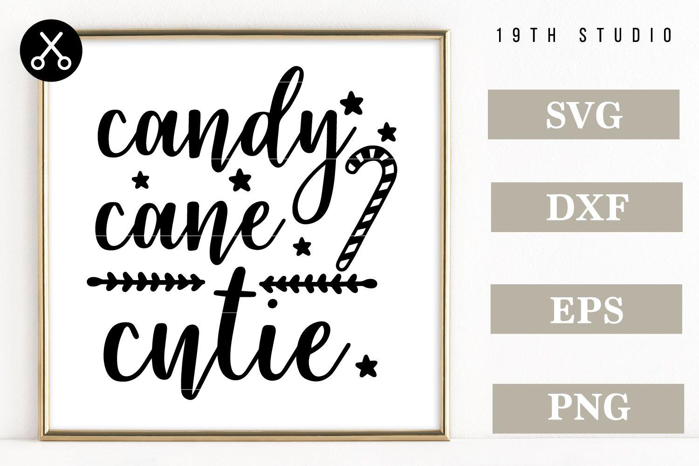 Candy Cane Cutie SVG by 19th Studio Design Bundles