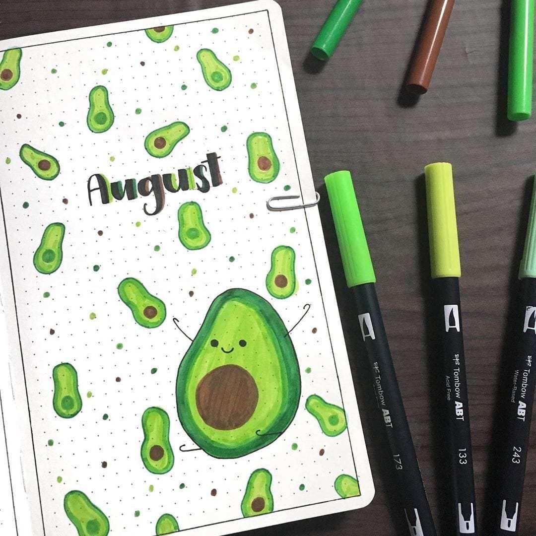 22 Hello August Bullet Journal Layout Ideas | Elizabeth Journals
