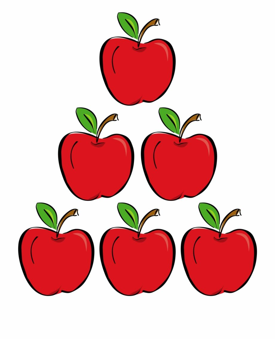 Apple Clipart Six Apples Clipart Hd Png Download Is A Free Transparent Png Image Search And Find More On Pngsee Clip Art Apple Clip Art Apple Fruit Images