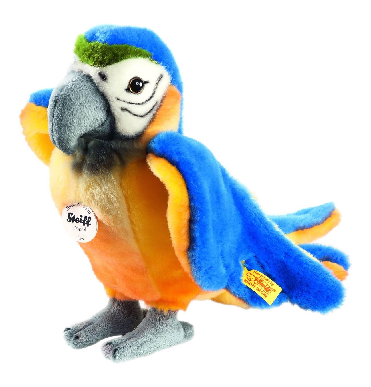 Papagei Lori 26 Cm Blau Gelb Kuscheln Blau Gelb Und National