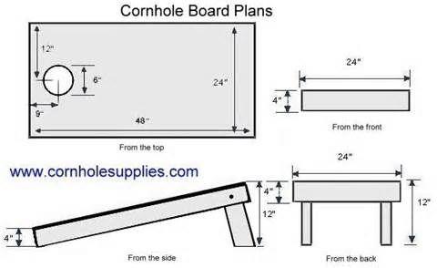 Cornhole Pattern Yahoo Image Search Results DIY Pinterest Simple Corn Hole Pattern
