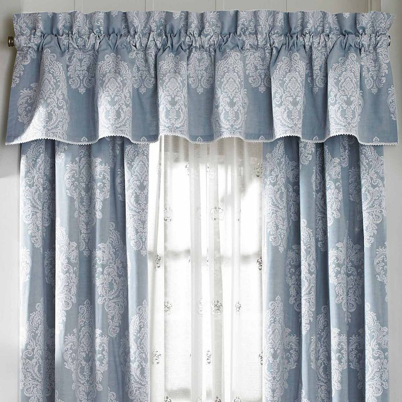 Queen Street Amelia Rod Pocket Tailored Valance Curtain Patterns