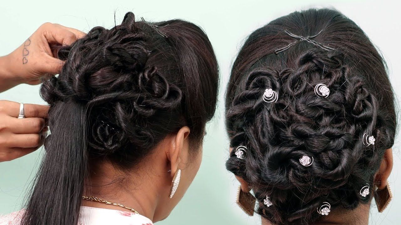 juda hairstyle for wedding | easy wedding hairstyle for