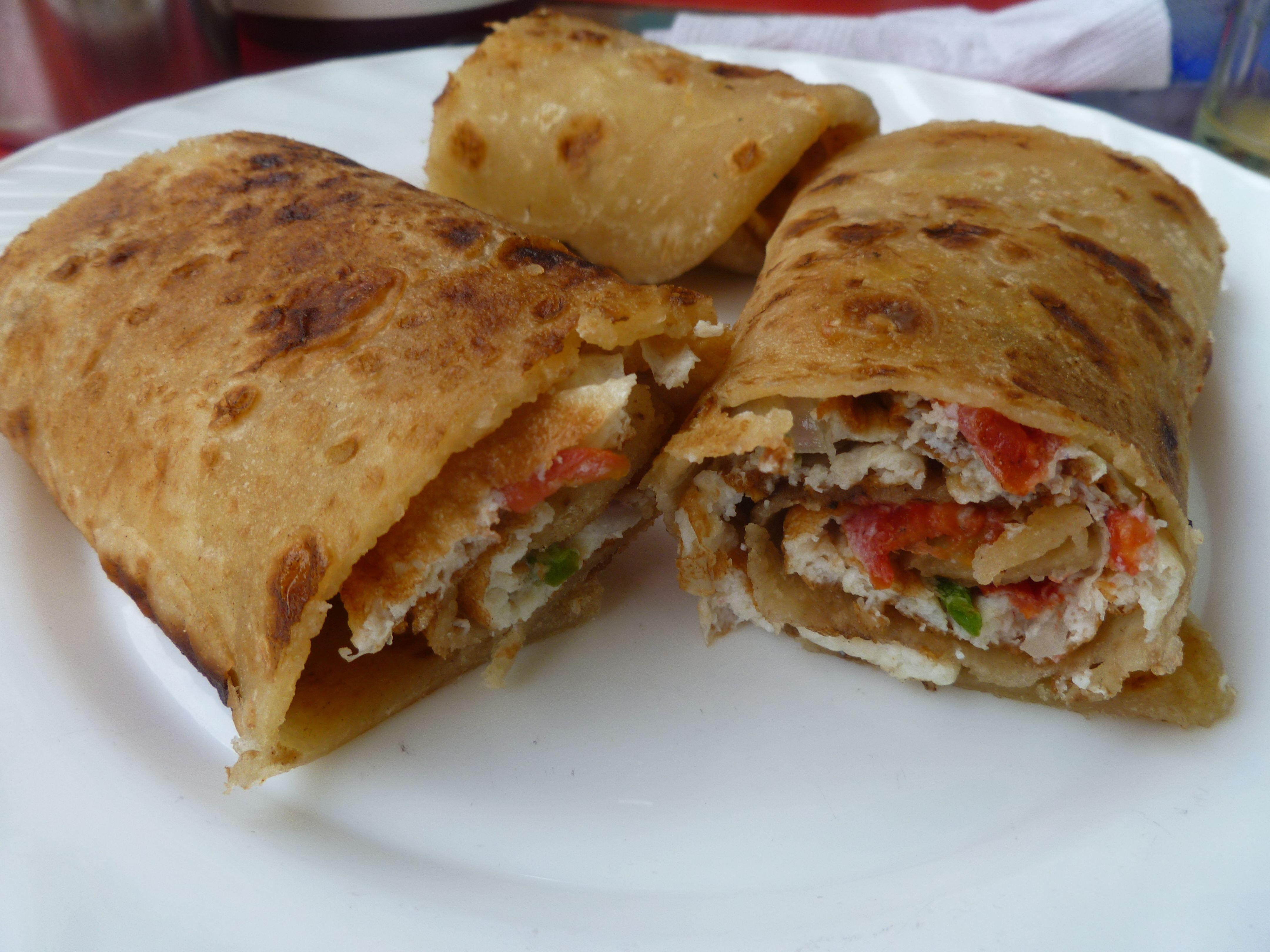 Ugandan street food, called a Rolex It\u0027s a omelette wrapped