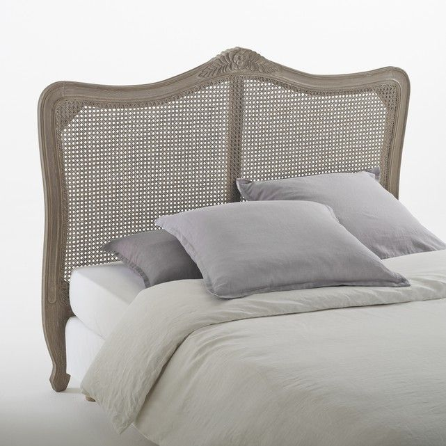 sydia woven rattan headboard rattan headboard rattan and wood structure. Black Bedroom Furniture Sets. Home Design Ideas