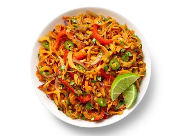 Southwestern Sweet Potato Noodles Recipe | Food Network Kitchen | Food Network