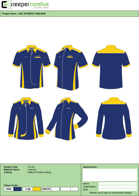 Baju Korporat Design Uniforms 0103425700 Corporate Shirts Corporate Uniforms Shirt Designs