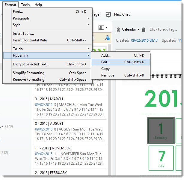 Linked evernote calendar pinteres how to create a planner with the evernote calendar template dr catherine pope maxwellsz