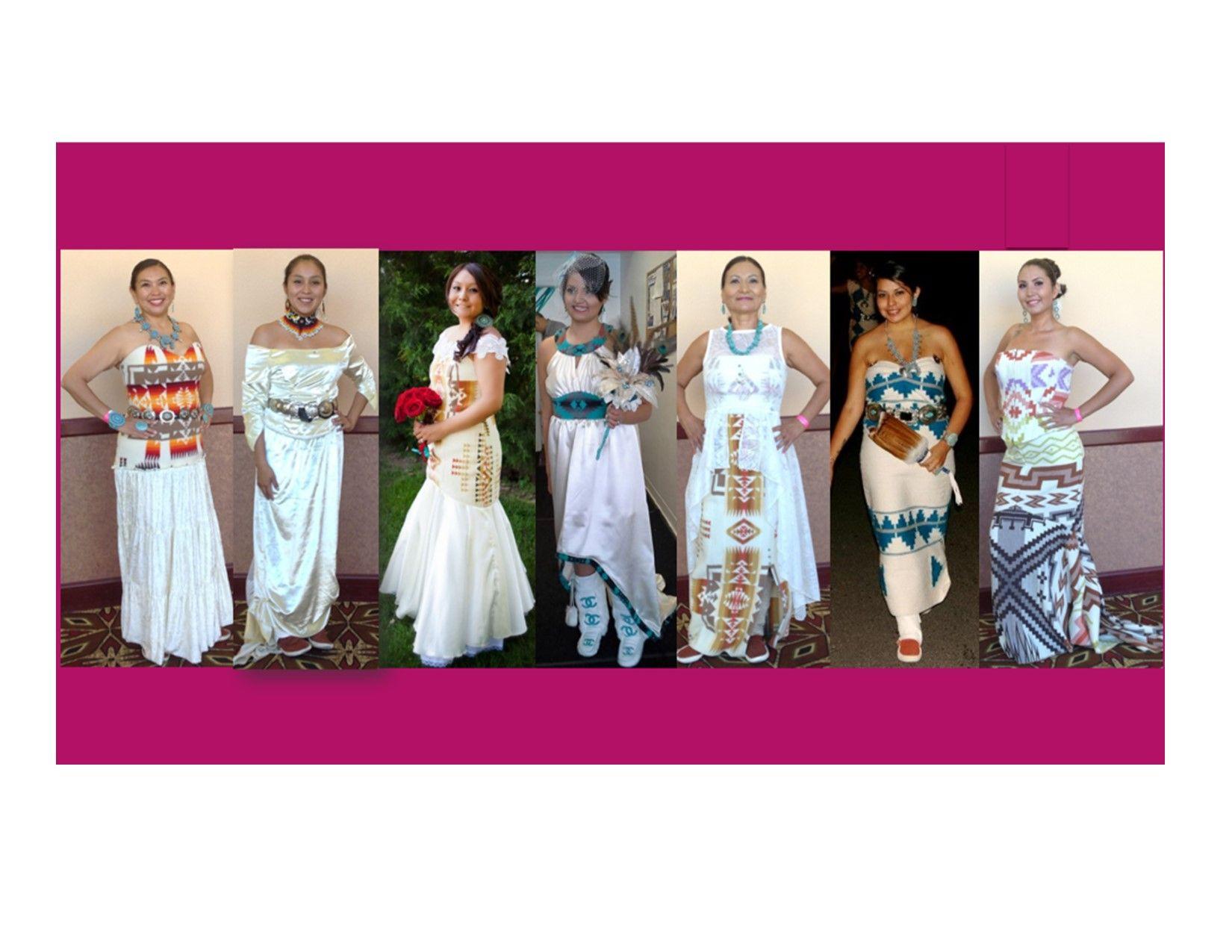 e4fa33b62e8 Native wedding dresses by Irene Begay