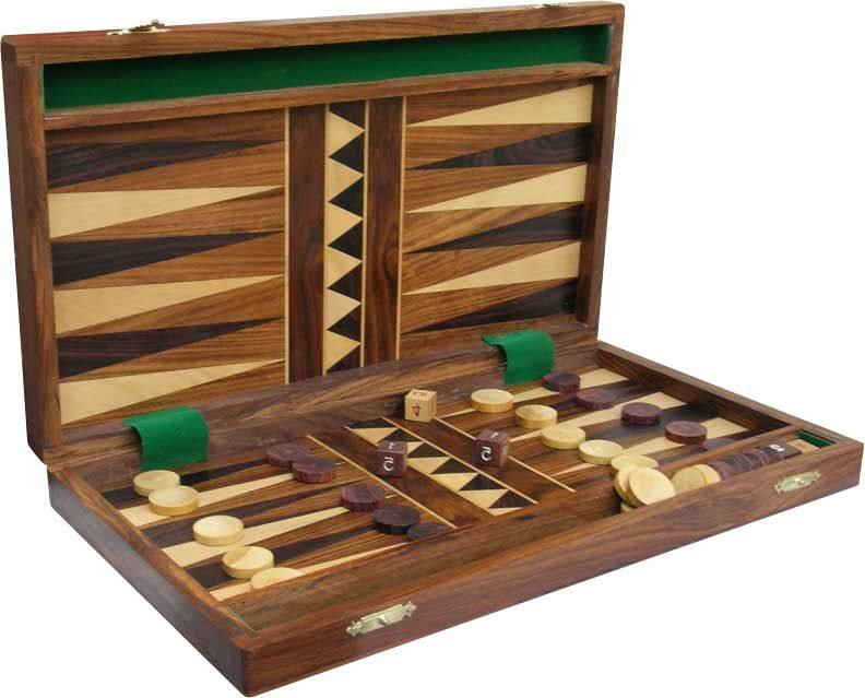 Backgammon Mat's all time favourite board game. It's a