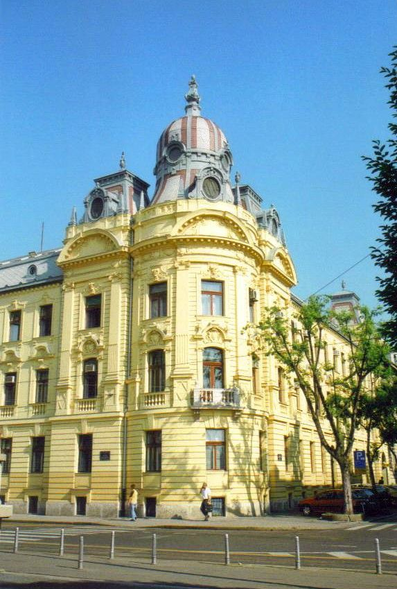Croatian Railways Headquarters Zagreb Croatia Www Stephentravels Com Top5 Things To See And Do In Zagreb Croatia Zagreb Zagreb Croatia Croatia