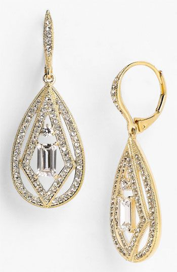 Nadri Art Deco Drop Earrings Nordstrom Exclusive available at