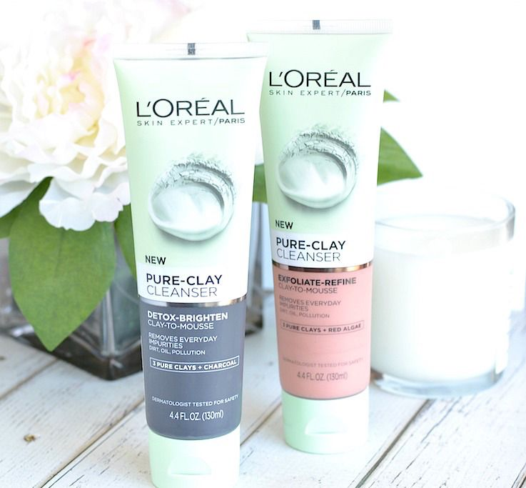 Drugstore Delight! L'Oréal PureClay Cleansers is part of Skin care - Whether your skin tends to get oily through the day, looks dull, or is in need of some exfoliation, L'Oréal Paris PureClay Cleansers have you covered!