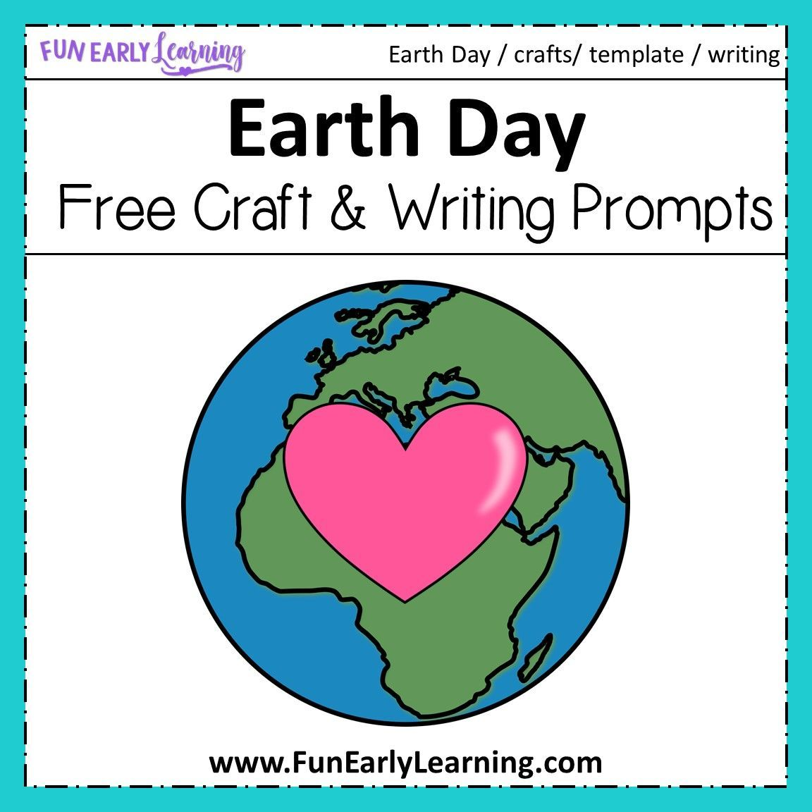 Earth Day Craft And Writing Prompts In