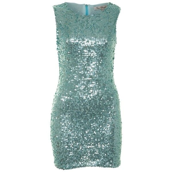 True Decadence Mint Sequin Body Con Dress ($20) ❤ liked on Polyvore featuring dresses, vestidos, short dresses, mint, sequin dresses, mini dress, bodycon mini dress and sequin mini dress