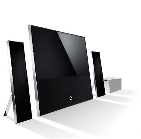 new loewe reference id screen available in three sizes 40 46 and 55 completely bespoke tv. Black Bedroom Furniture Sets. Home Design Ideas