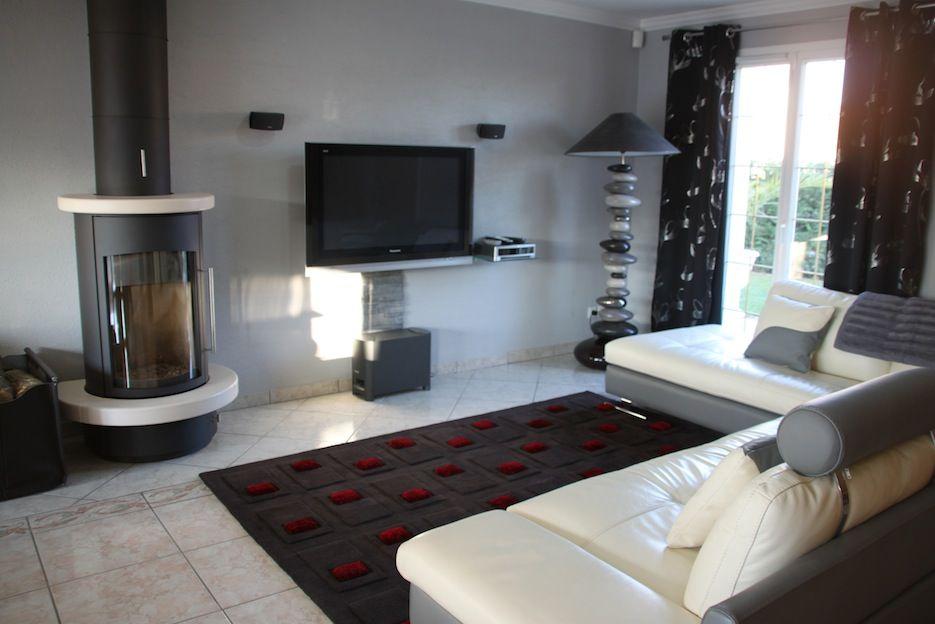 Salon Avec Lampe Galet   Maison (Organisation, Ménage, Décoration