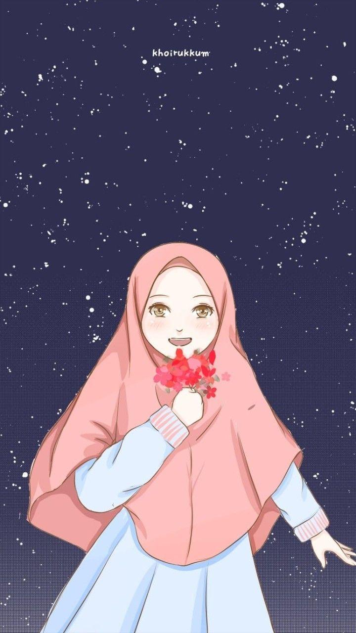 Pin Oleh Oenhy Hizbi Di Anime Muslimah Elit Ilustrasi Karakter Gambar Karakter Seni Islamis