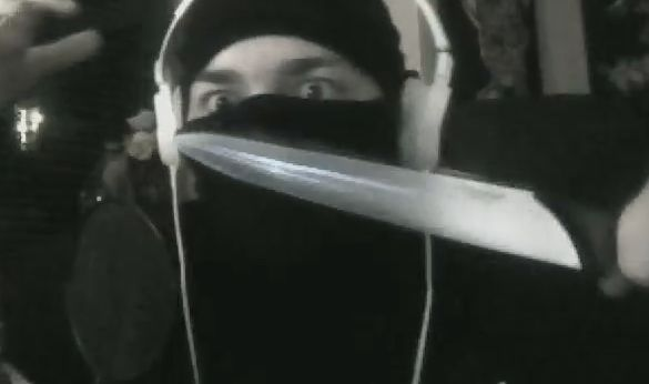 Vinesauce Joel as a ninja