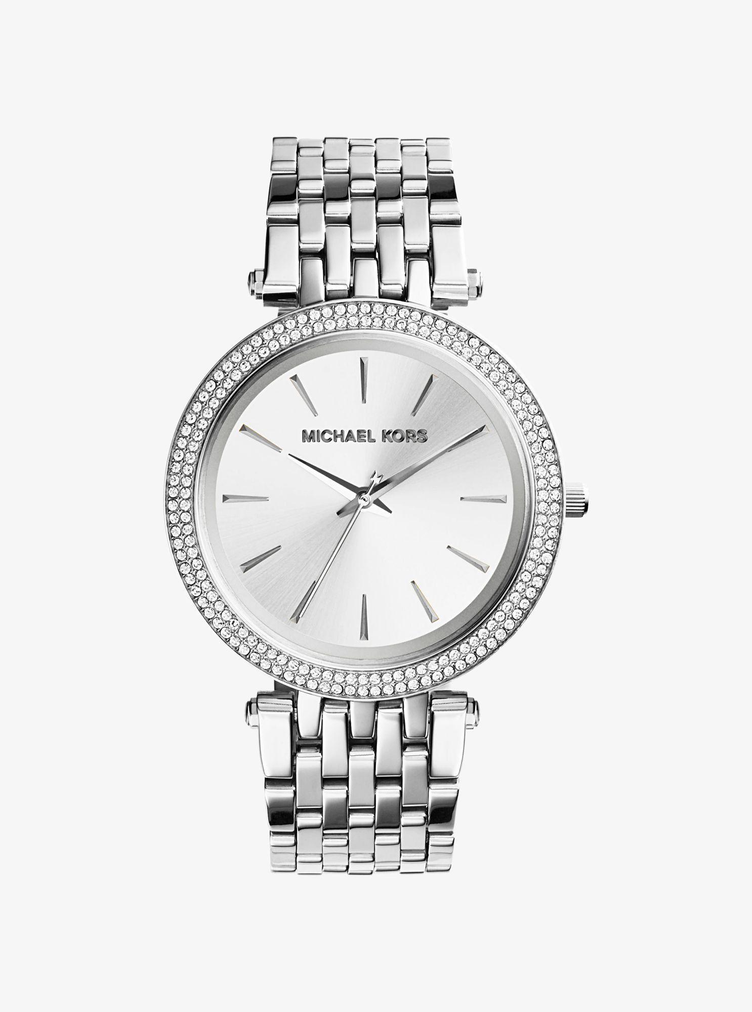 ed88b719c4ae MICHAEL KORS Darci Silver-Tone Watch.  michaelkors  all