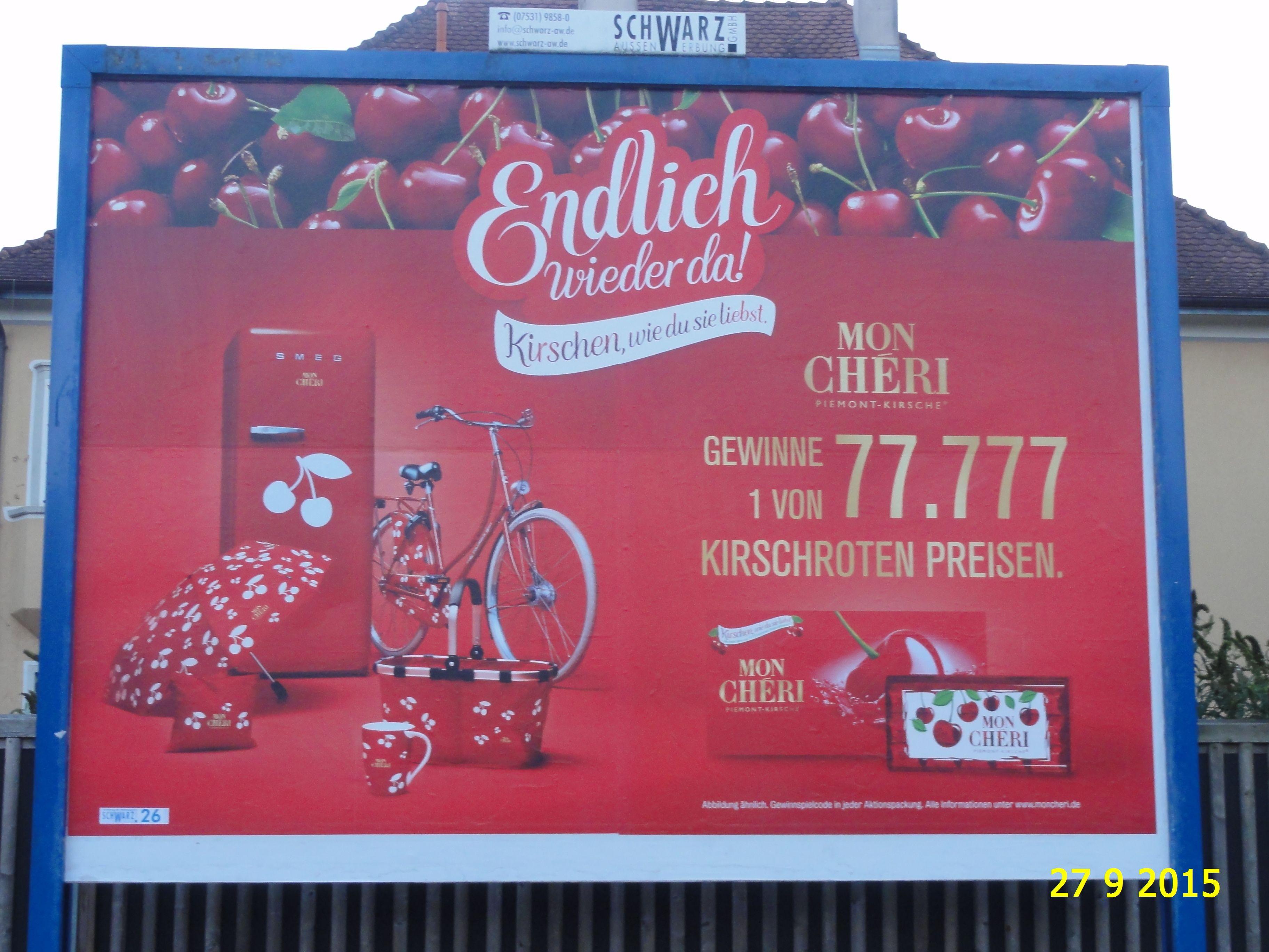 663. - Plakat in Stockach. / 27.09.2015./
