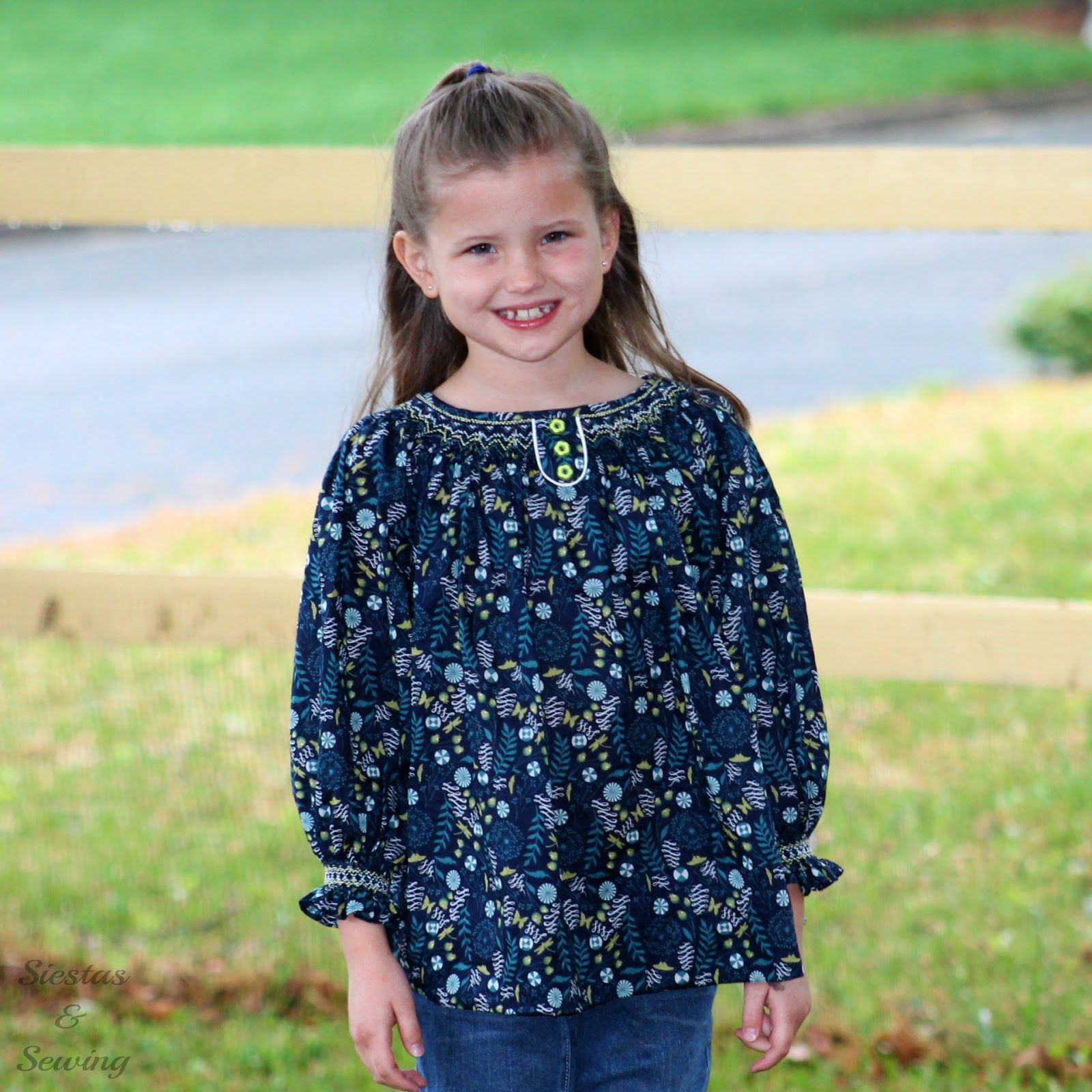Siestas and Sewing: Fancy Free Blouse, AS issue 96