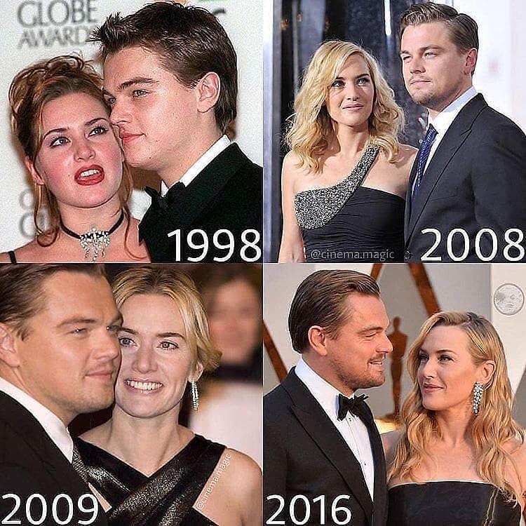 Fitness College S Instagram Profile Post Leonardo Dicaprio Ignoring Kate Winslet Since 1998 In 2020 Leonardo Dicaprio Young Leonardo Dicaprio Leonardo And Kate