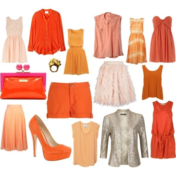 orange, created by fishermarquis on Polyvore