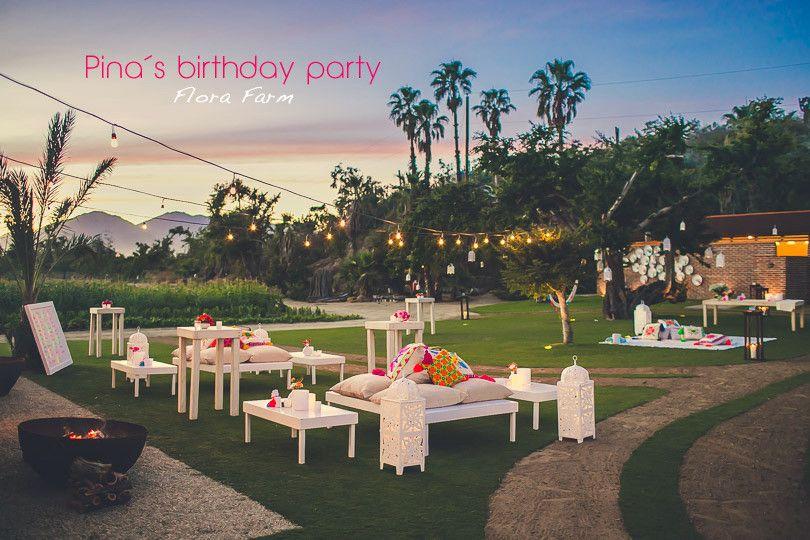 Flora Farms Festive Birthday Party