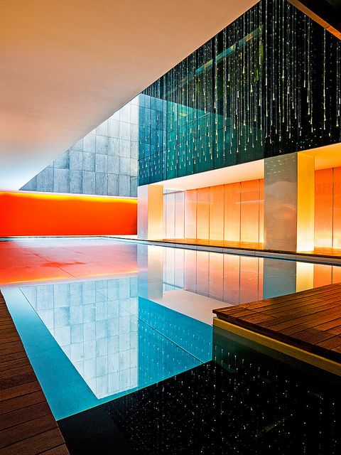 The Opposite House Pool Architecture Architecture Design Modern Architecture