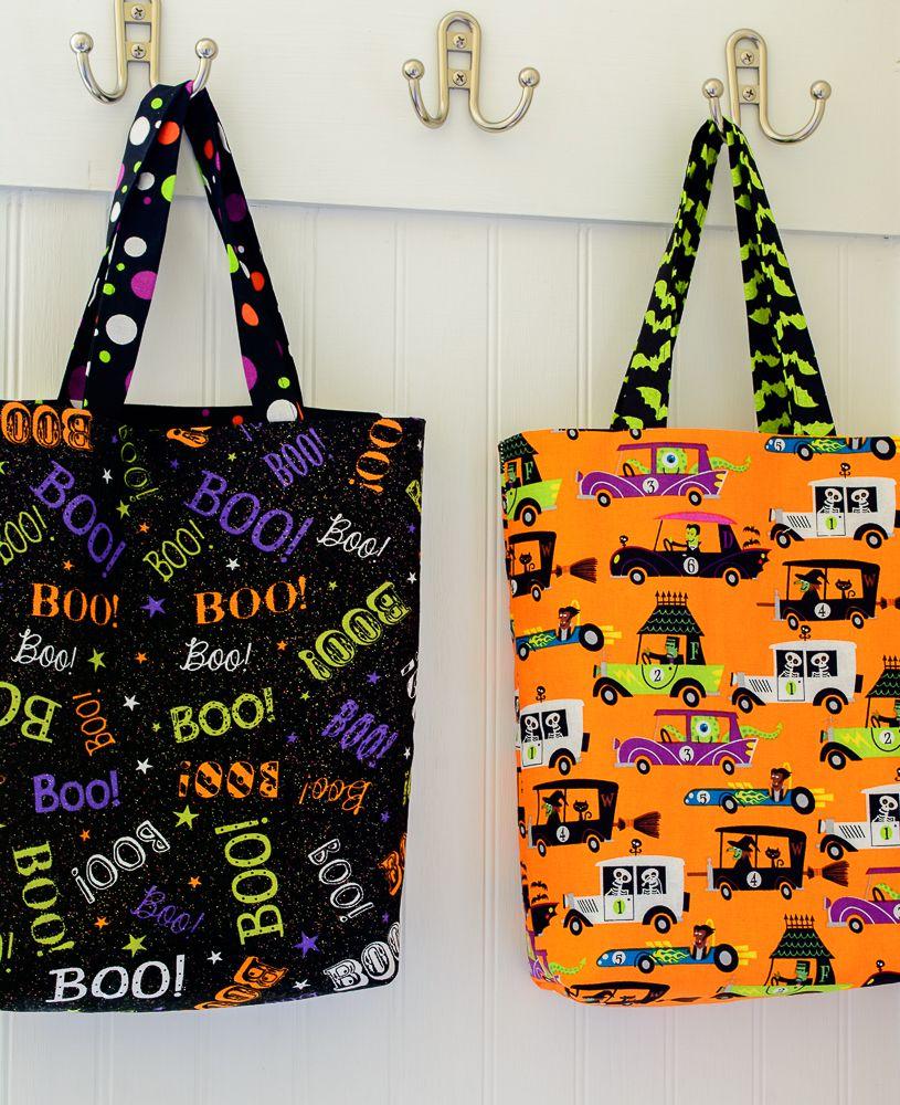 Easy DIY Trick or Treat Bag Tutorial Halloween treat
