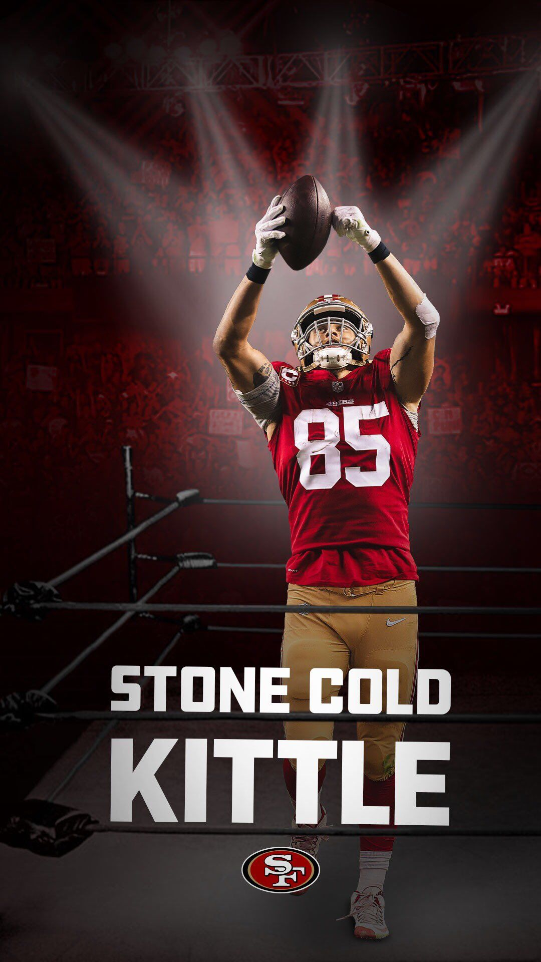 Pin By Dale Mclaughlin On San Francisco 49ers San Francisco 49ers Football Nfl Football Wallpaper 49ers Football