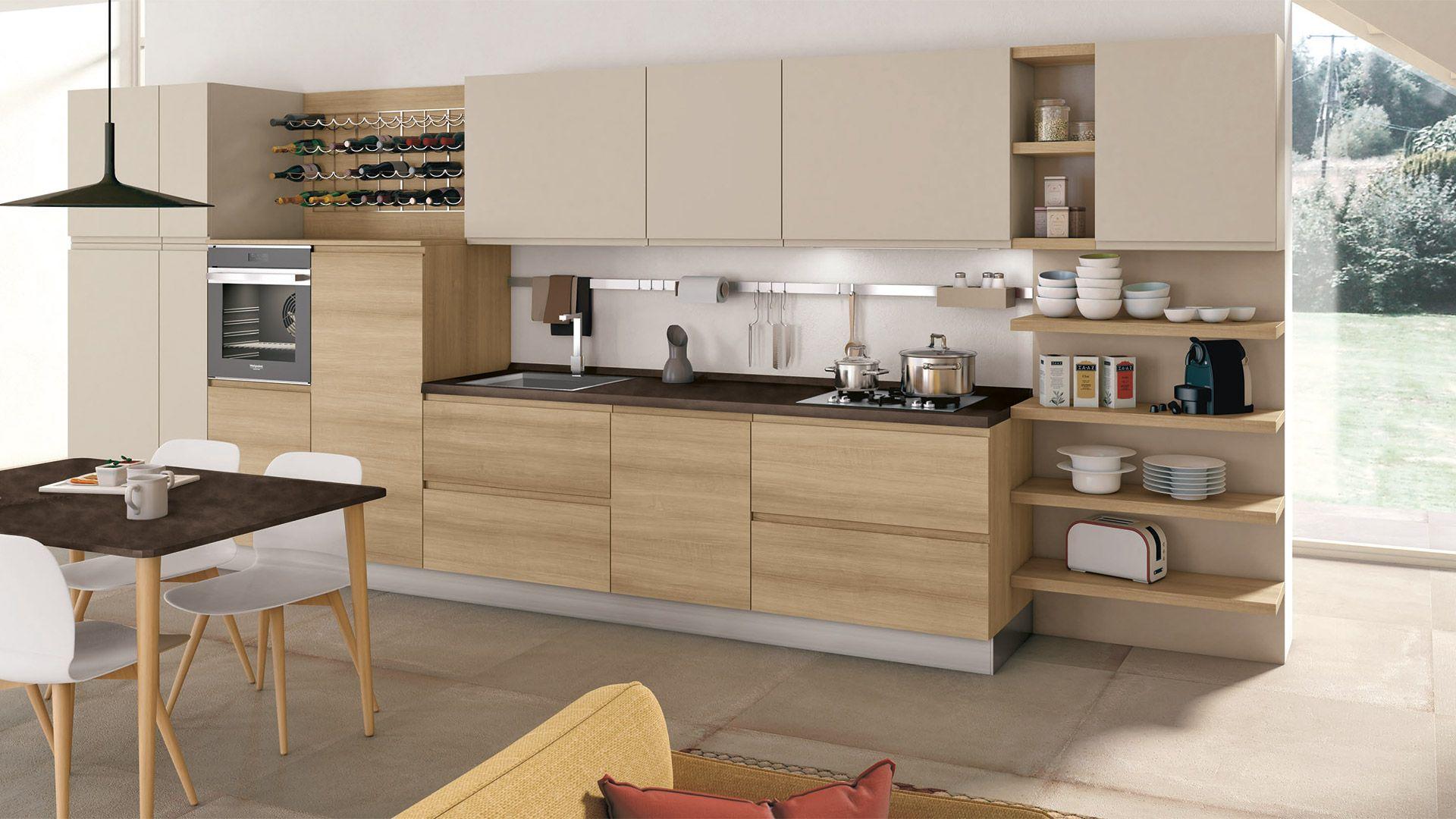 Cucina Jey - Cucine Moderne - Creo Kitchens nel 2019 ...