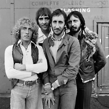 THE WHO, SHEPPERTON STUDIOS, ENGLAND, 1978