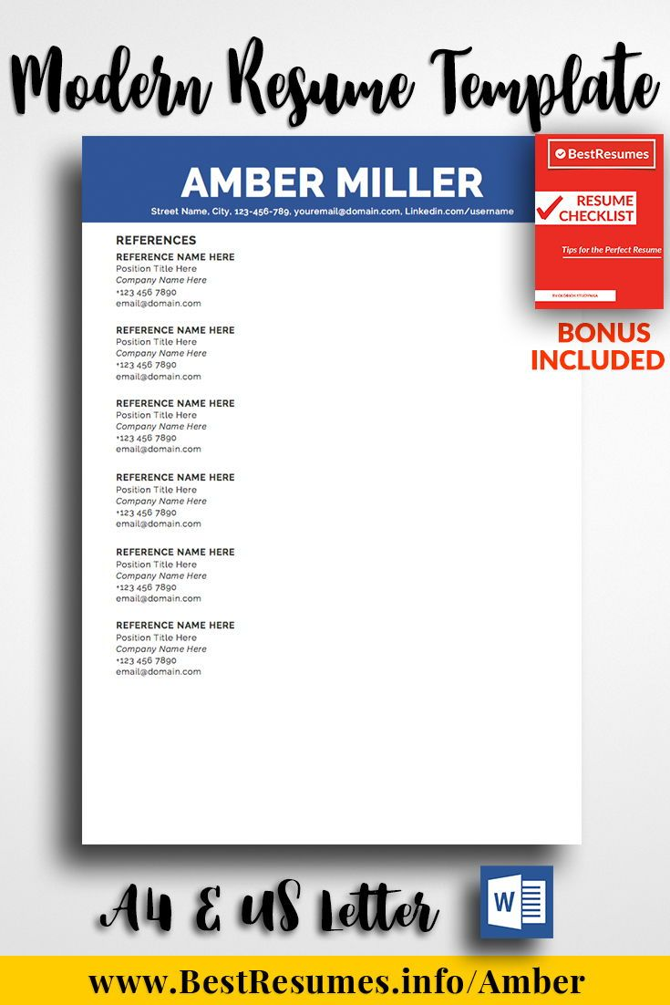 simple resume template amber miller