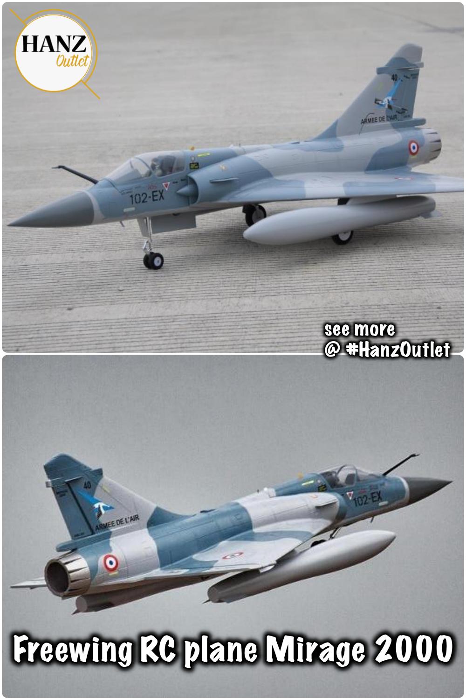 Freewing rc plane Mirage 2000 80mm edf jet PNP KIT 6S