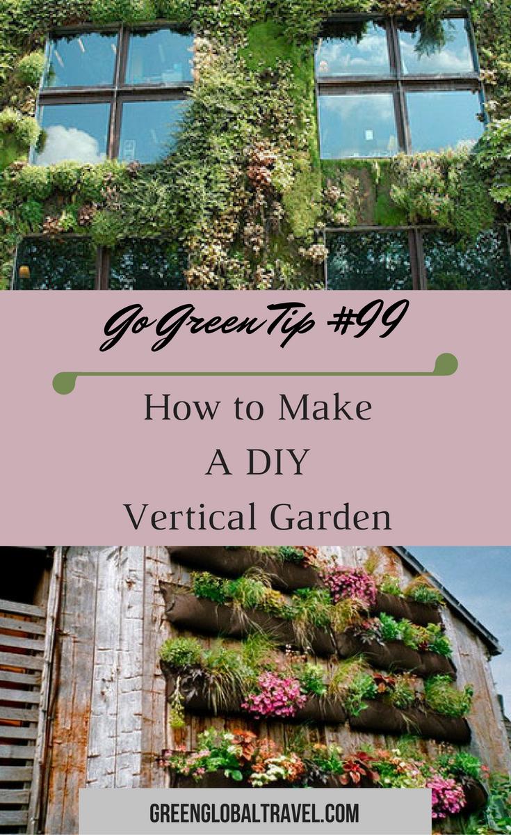 Learn how to make a diy vertical garden crafts gardening learn how to make a diy vertical garden crafts gardening ecofriendly plants solutioingenieria Gallery