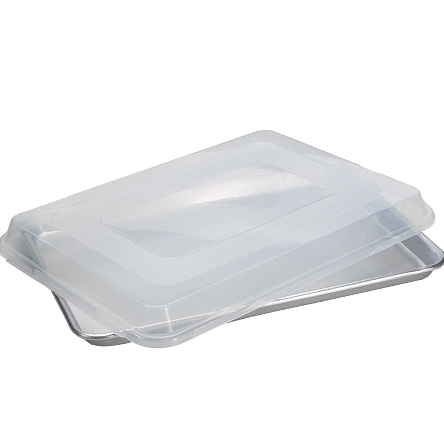 Nordic Ware Natural Aluminum Commercial Baker S Half Sheet With Lid Check Out The Image By Visiting The Link Nordic Ware Nordic Bakeware Organization