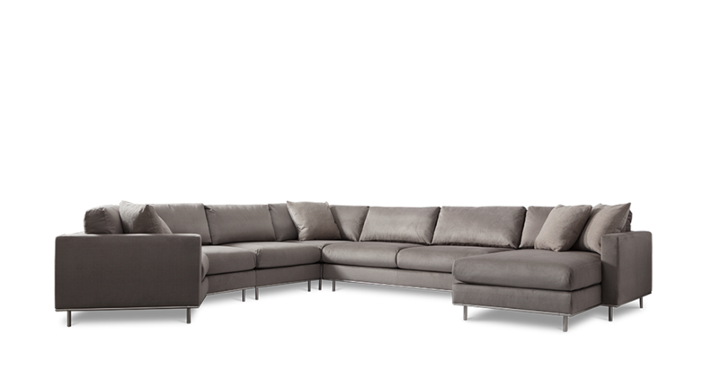 Valencia Sectional In 2020 Sectional Custom Sectional Sofa Custom Sectional