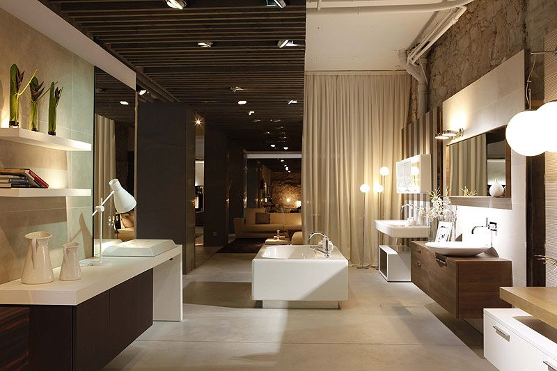 Gunni & Trentino Kitchens and Bathrooms Barcelona Showroom ...