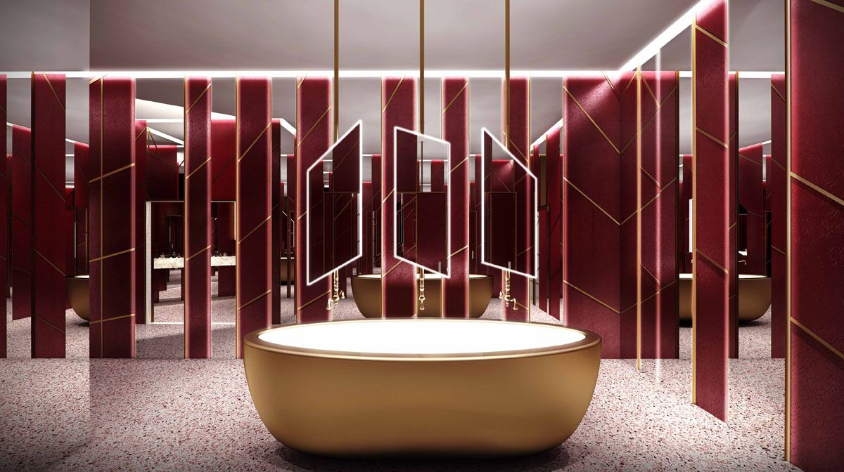 Humbert Amp Poyet Restaurant Design Provoking Surfaces And