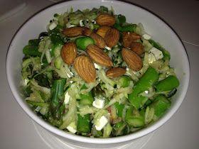 Sund er fedt - Opskrifter: Asparges squash salat