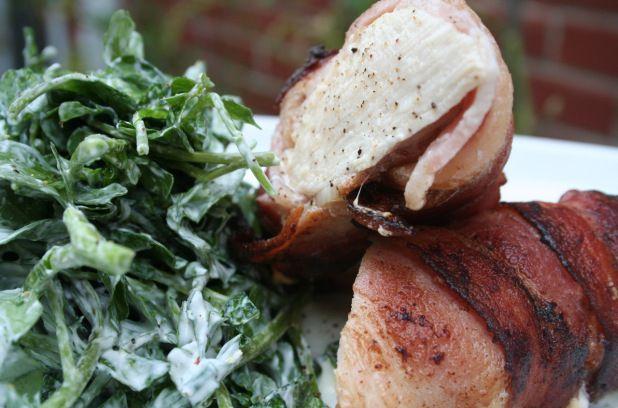 Salade de poulet, bacon et de cresson   Métro