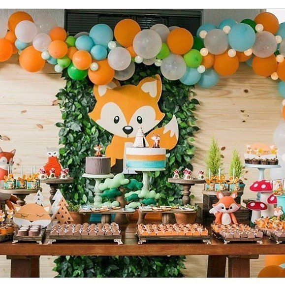These trendy woodland baby shower ideas are so cute, every forest friend will want to be invited.