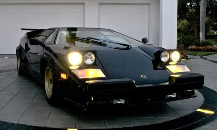 Counthach Nera Automobiles Motorcycles Lamborghini